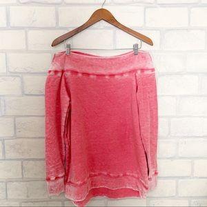 Soft Surroundings | Burnout Sweatshirt